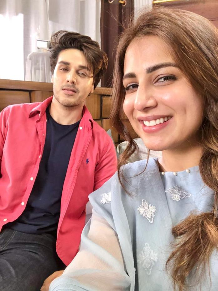 Ahsan Khan & Ushna Shah play lead roles in 7th Sky Entertainment Mega Project