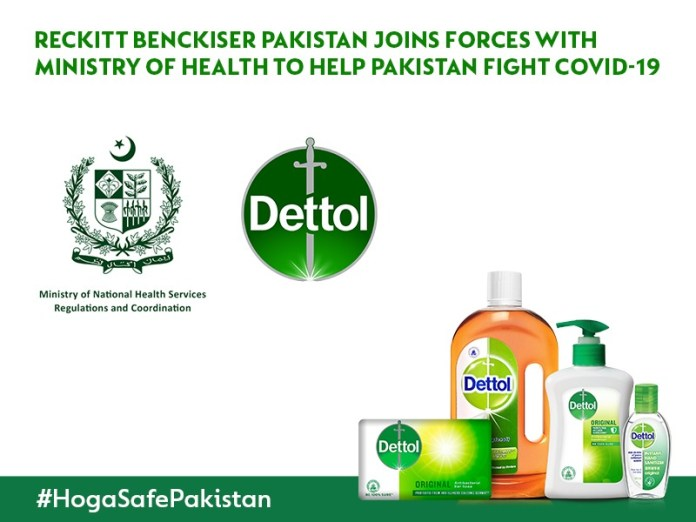 Reckitt Benckiser Pakistan Joins Forces with Ministry of Health To Fight Covid19