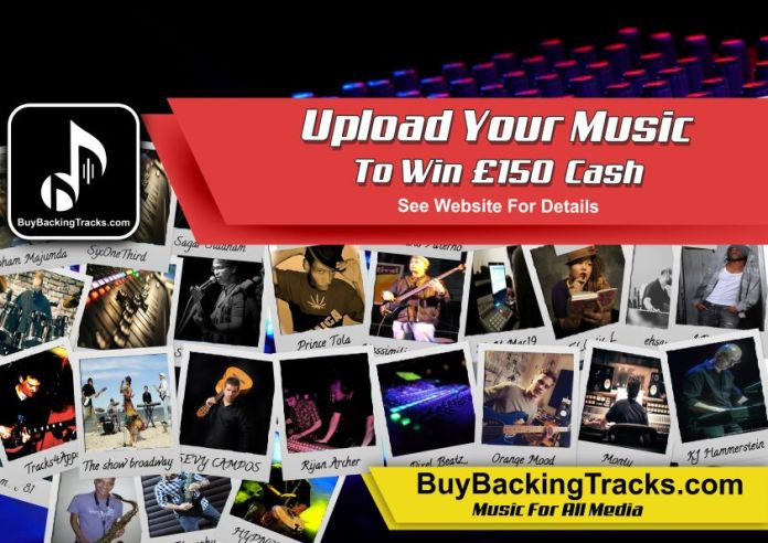 Upload Your Music To Win £250