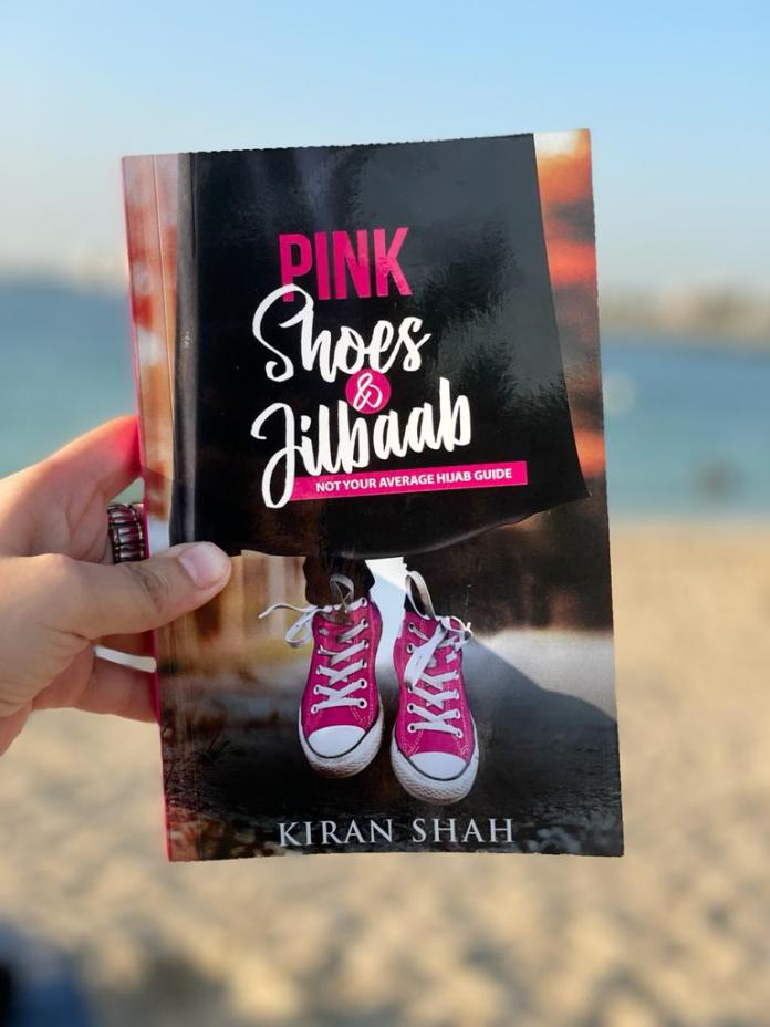 Kiran Shah's Pink Shoes and Jilbaab