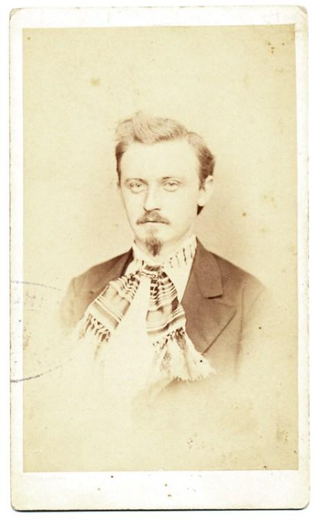Portret realizat de A. Spoutil. Imagine nedatată.