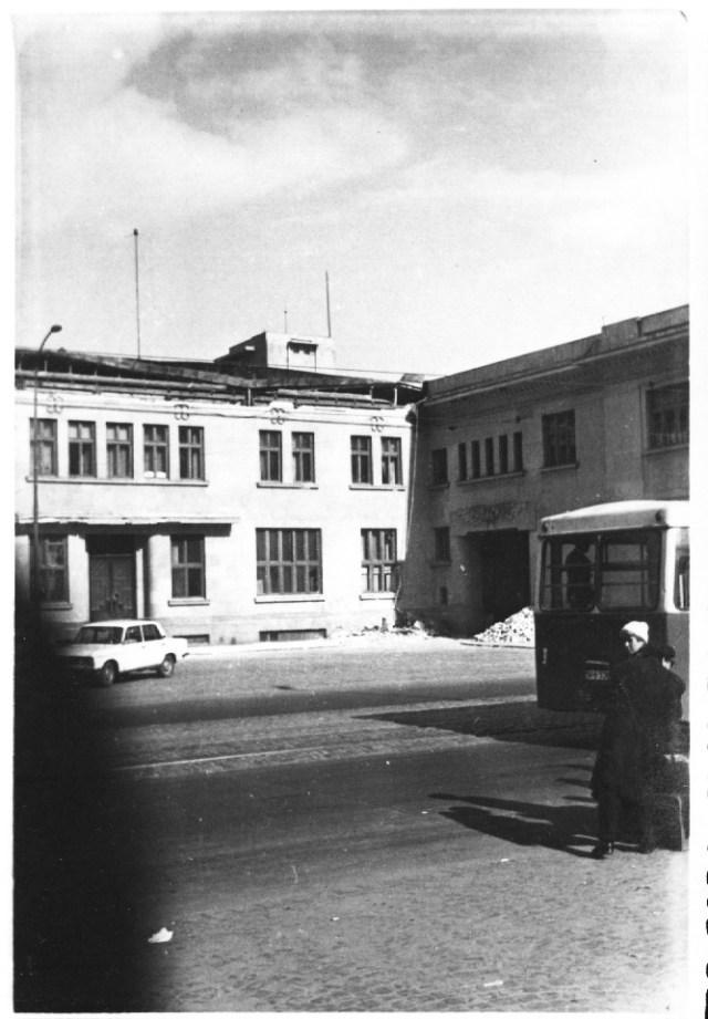 """Gara de Nord, aripa din bd. Dinicu Golescu, dupa cutremur. Bucuresti 7 martie 1977"""