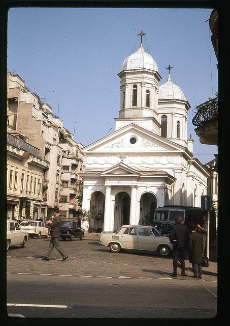 Biserica Albă de pe Calea Victoriei din București, 1971
