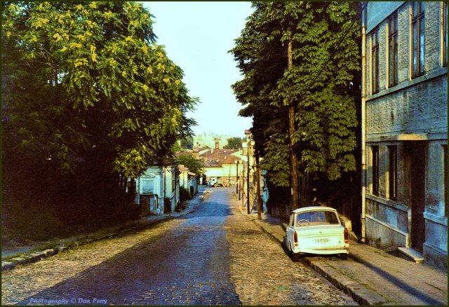 Strada Arionoaiei în 1980
