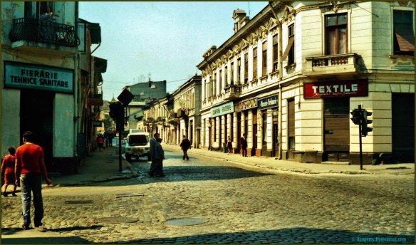 Strada Rahova, București, 1980