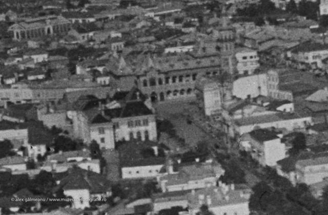 Detaliu - Palatul Comunal