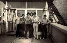 Faraoni leta 1969 v Beogradu Faraoni (foto: arhiv skupine)