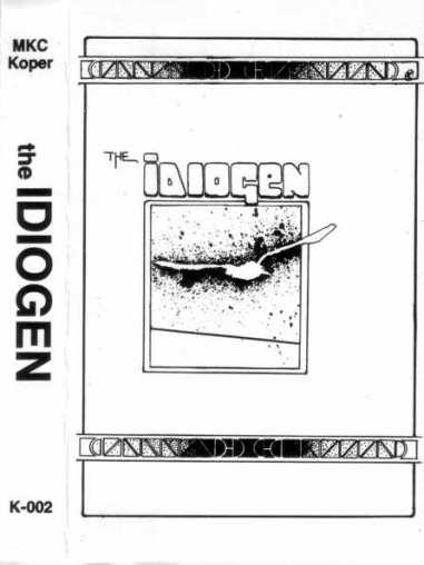 Kaseta Idiogen 1985