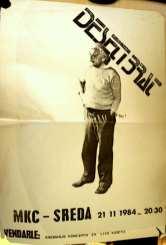 Koncertni plakat Deseti Brat (Arhiv: Boris Bradač)