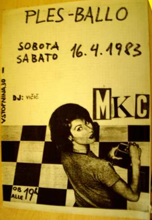 Plakat MKC Ples(Arhiv: Boris Bradač)