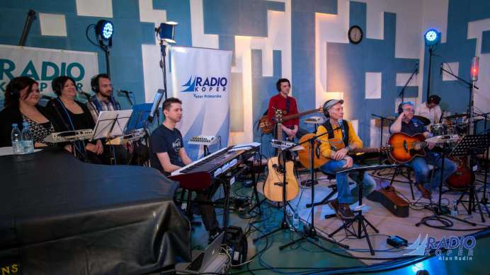 Enzo Hrovatin@Radio Live (foto: Alan Radin)