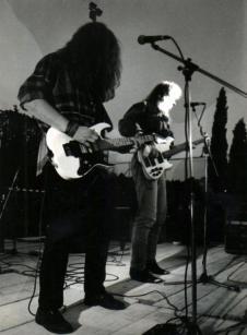 Roki Petkovič in Egon Godina (foto: arhiv Roki)