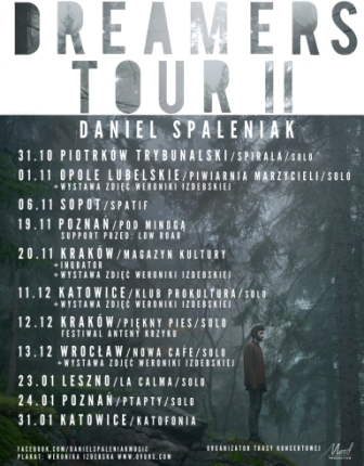 Daniel Spaleniak Dreamers Tour II band s.small