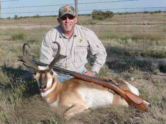 Jeff ? with Texas Antelope