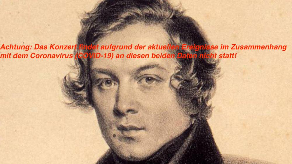 Robert Schumann «4. Sinfonie d-Moll» / Péteris Vasks 28./29. März 2020