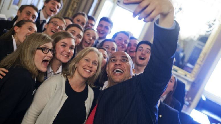 Senators Booker and Gillibrand - bff?