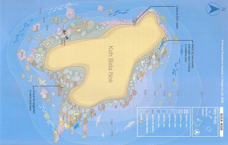 Thailand Liveaboard MV Giamani - Thailand Dive Sites - Phi Phi Islands Koh Bida Nok