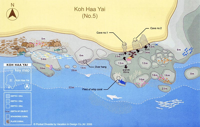 Thailand Liveaboard MV Giamani - Thailand Dive Sites - Koh Haa Yai