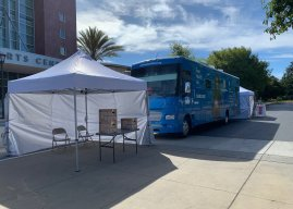Teen health van offers COVID testing to MVLA students and families