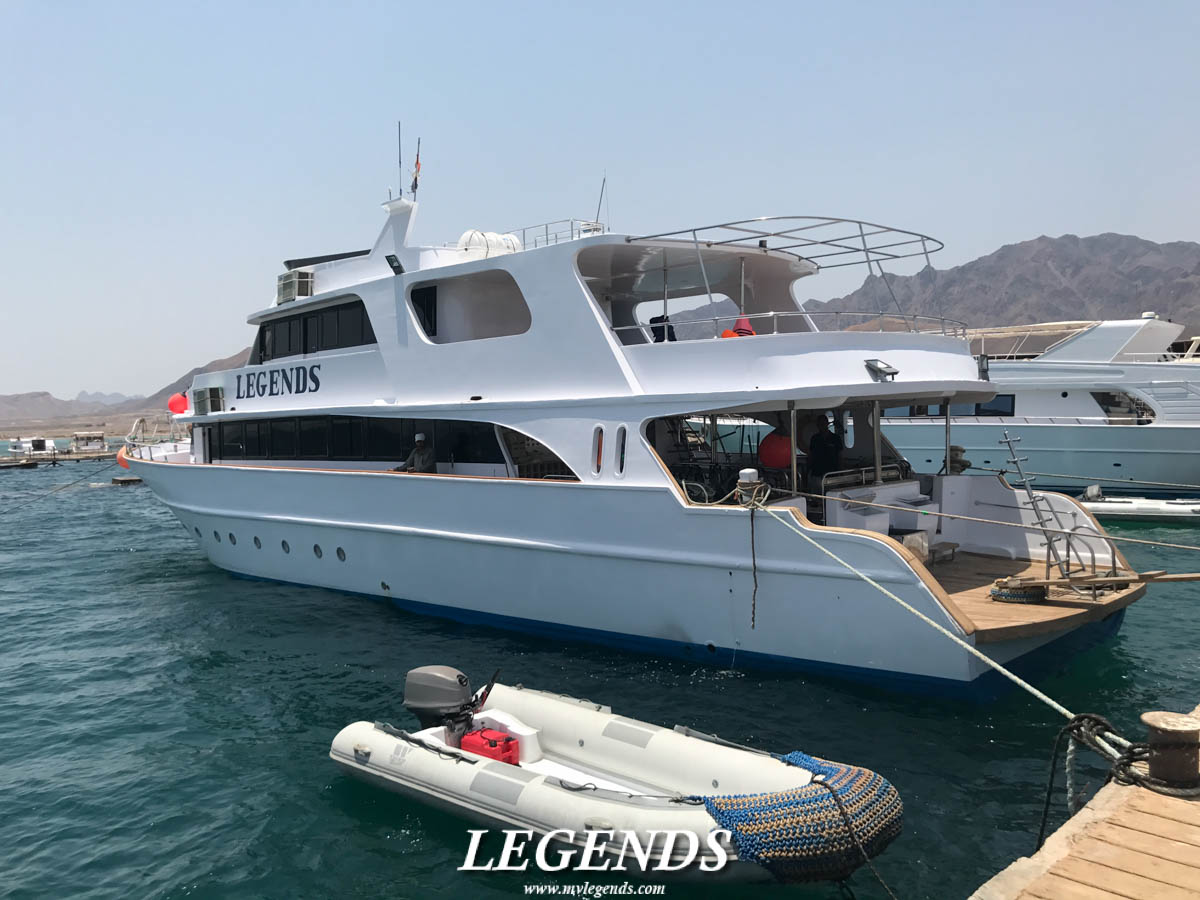 MV Legends Dry Dock 2017