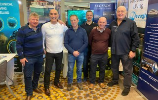 MV Legends at the Irish Dive Expo 2020 (Dive Ireland)