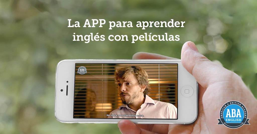 Aprende inglés con películas gracias a la app de ABBA English