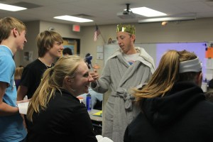"Students reenact ""Hamlet"" for deeper meaning"