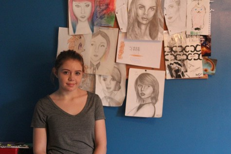 Freshman Shaina Isaacsen finds passion in portraiture