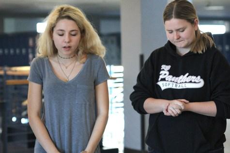 Students host prayer walk around school