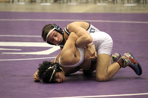 Wrestling places fourth in state meet