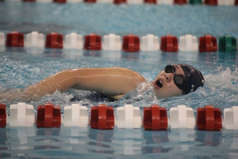 Photo Gallery: Girls swim competes in JV meet at Blue Valley West