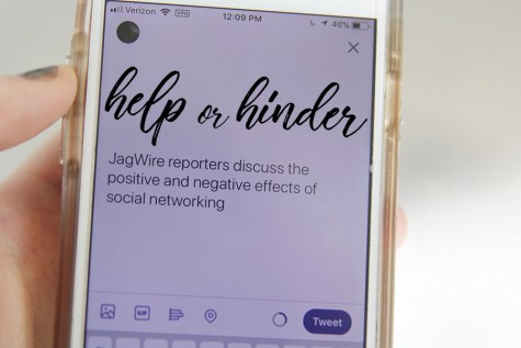 JagWire reporters discuss the positive and negative effects of social networking