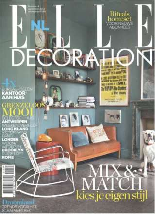 Cover Elle Decoration sept 2013 (gesleept) 2