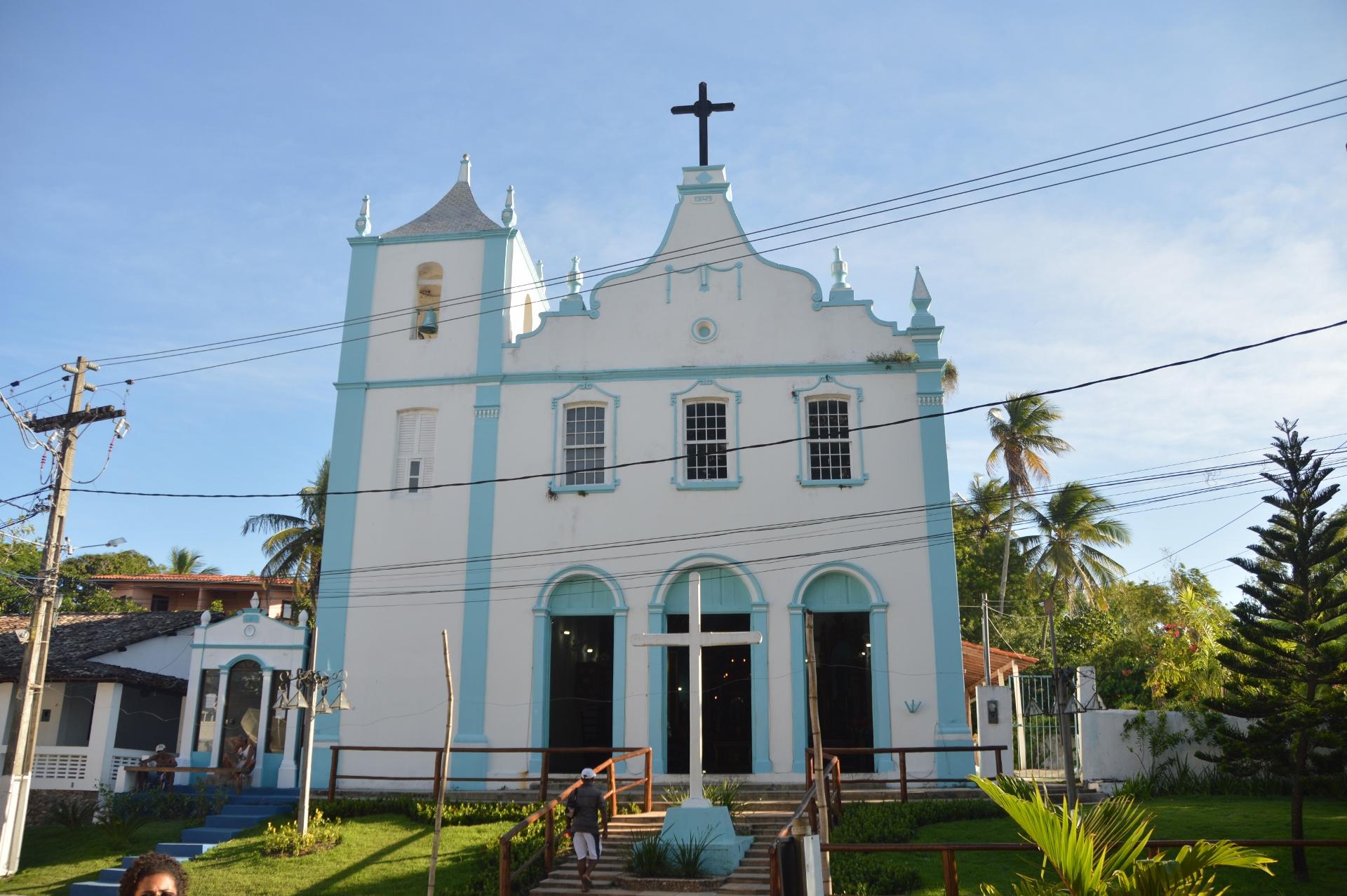 Igreja Nossa Senhora da Luz na Entrada da Ilha, Morro de São Paulo - BA, by Luciana de Paula