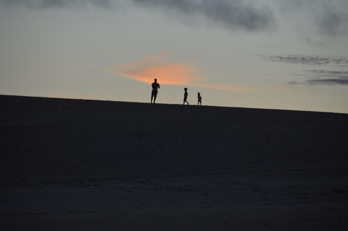 Itaúnas - ES, um pé na terra e outro na areia