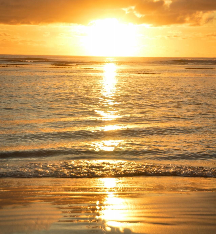 Nascer do Sol na Praia de Taipu de Fora, Península de Maraú - BA, by Luciana de Paula, 2016