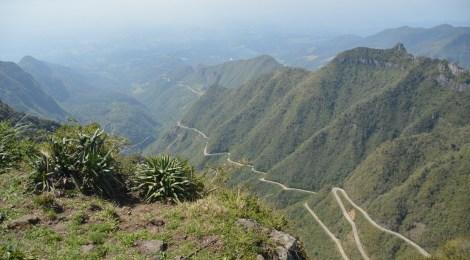 O frio e as lindas paisagens da Serra Catarinense