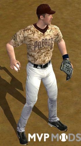 2019 San Diego Padres Uniforms Uniforms Mvp Mods