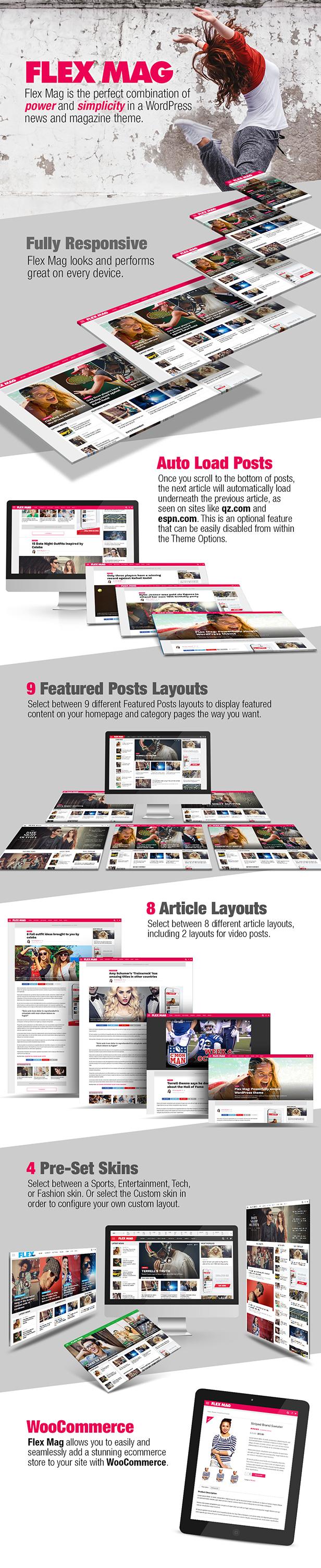 Flex Mag - Responsive WordPress News Theme - 1