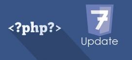 Atualize sua versão do PHP