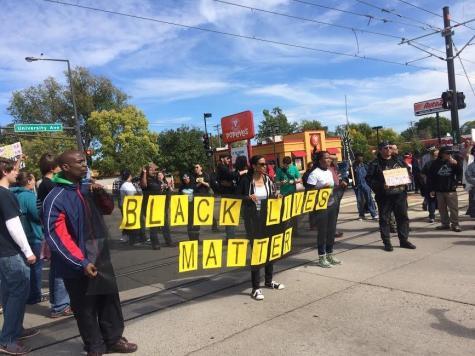 Stand up for #BlackLivesMatter