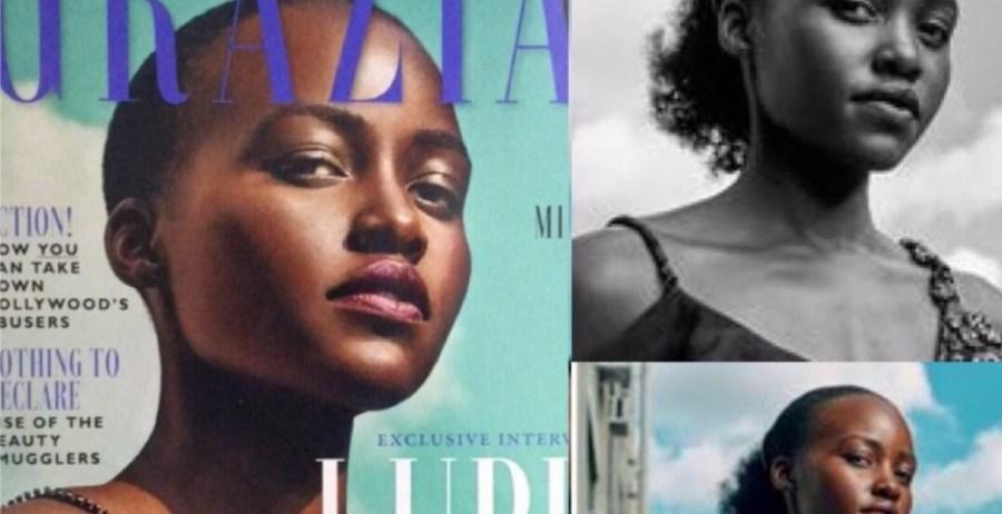 UK Magazine Apologizes to Kenyan Hollywood Actress Lupita Nyong'o over 'Photoshopped' Hair
