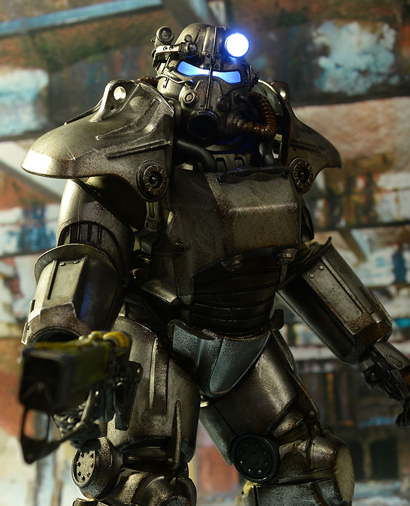 Review And Photos Of ThreeZero Fallout 4 T 45 Power Armor