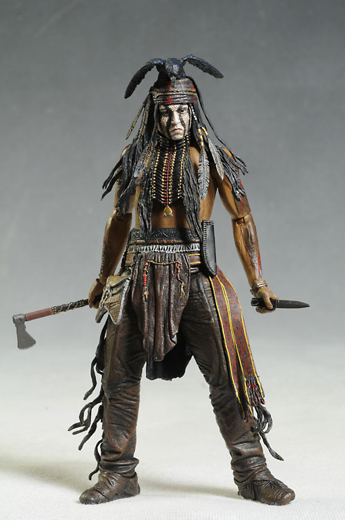 Review And Photos Of Lone Ranger Tonto Action Figures By NECA