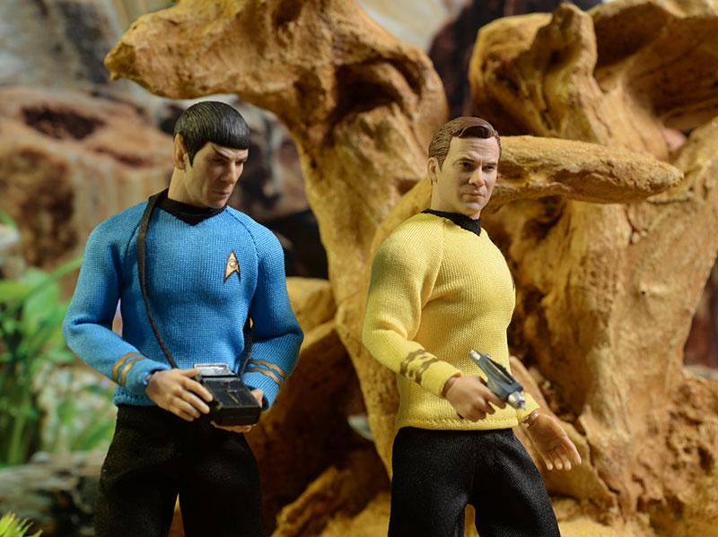 Captain Kirk Star Trek One:12 Collective action figure by Mezco