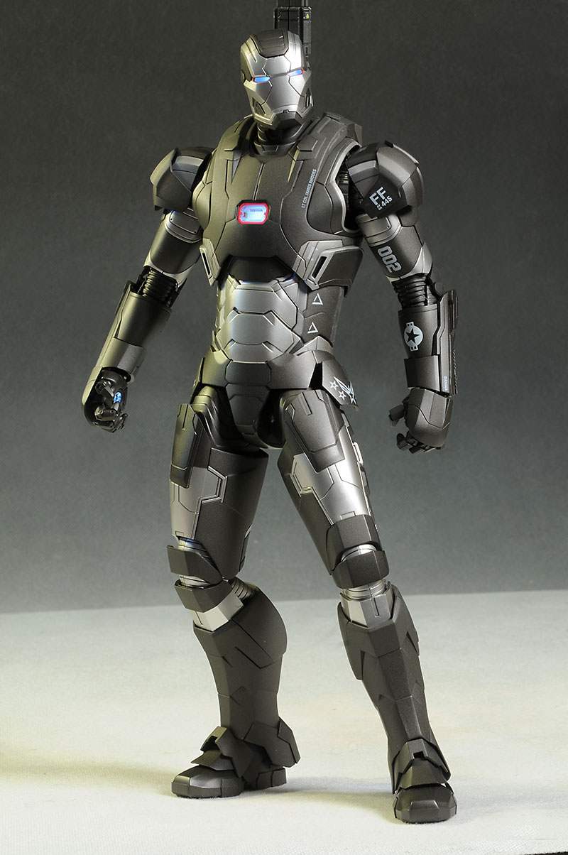 Toys For Gentleman : Live photos hot toys iron man mms diecast af war