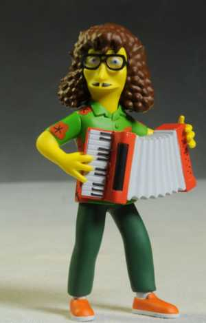 Review And Photos Of Celebrity Simpson Action Figures From