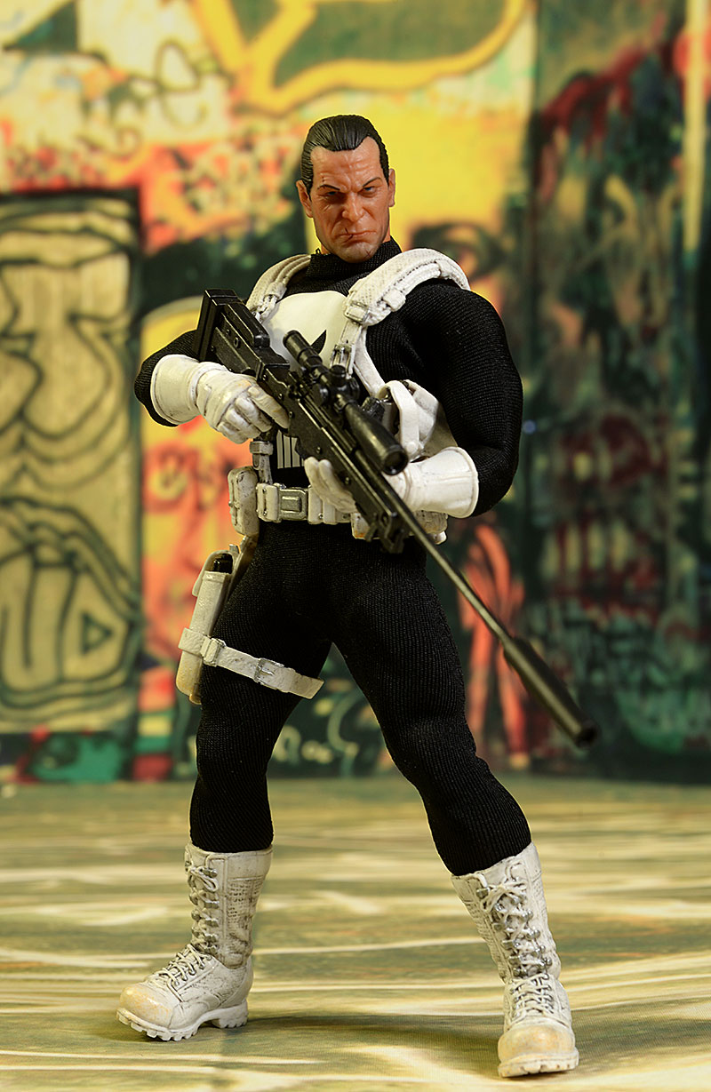 Classic Punisher One:12 Collective action figure by Mezco Toyz