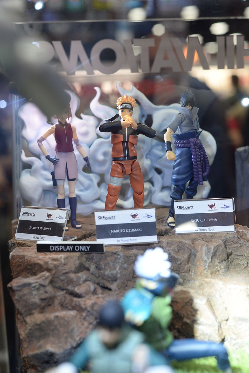 SDCC 2016 San Diego Comic-Con Tamashii Nation, S.H. Figurart