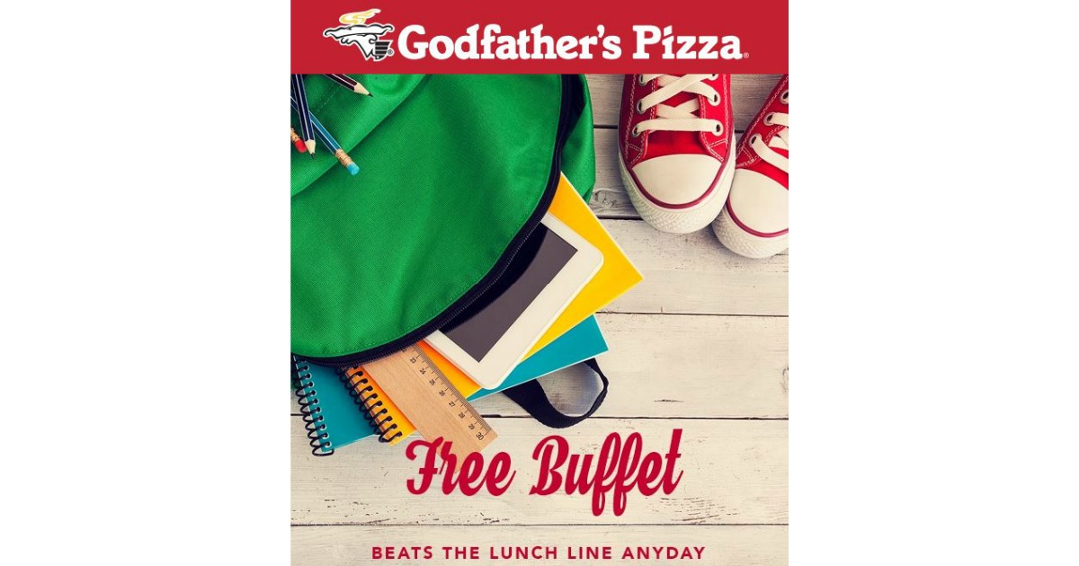 free kid s buffet godfather s pizza in burnsville mn with rh mwfreebies com